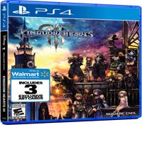 Walmart Exclusive: Kingdom Hearts 3, Square Enix, PlayStation 4, 662248921907