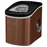 Igloo ICE117-SSCOPPER Compact Ice Maker- Makes 26 lbs. of ice - Copper Stainless Steel - Manufacturer Refurbished