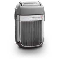 Remington Heritage Series Foil Electric Shaver for Wet or Dry Use, Titanium/Chrome, HF9000