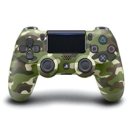 Sony PlayStation 4 DualShock 4 Controller, Green Camo, (3 Port Controller)