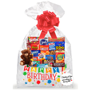 Happy Birthday Thinking Of You Cookies Candy More Care Package Snack Gift Box Bundle