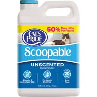 Cat's Pride Scoopable Unscented Cat Litter, 12-lb