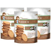(3 Pack) Mrs. Thinster's Toasted Coconut Cookie Thins, 4 oz