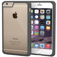 rooCASE iPhone 6 Case, Slim Fit [PLEXIS IMPAX Series] Hybrid Clear PC / TPU Silicone Skin Case Cover for Apple iPhone 6 4.7