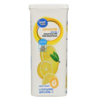 (12 Pack) Great Value Drink Mix, Lemonade, Sugar-Free, 3.2 oz, 6 Count