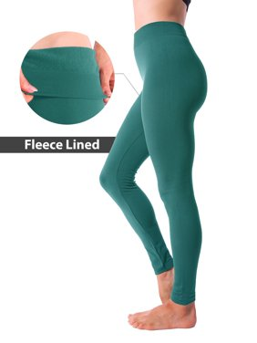 c79f7184d8 Product Image Winter Warm Fleece Lined Thick Brushed Full Length Leggings  Thights Pants