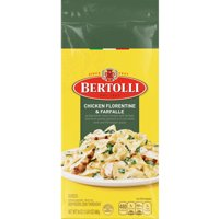 Bertolli Frozen Skillet Meals for Two Chicken Florentine & Farfalle, 24 Oz