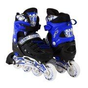 Size 4-6 Adjustable Kids Light Up Inline Skates 0cb9a359c3