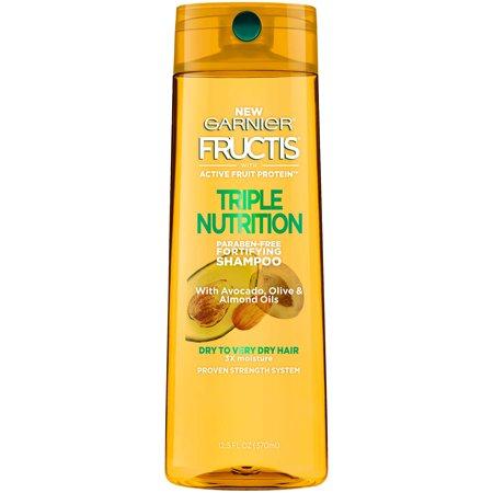 Nutrition Shampoo (Garnier Fructis Triple Nutrition Shampoo, 13 Fl)