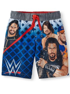 Wrestler Graphic Swim Trunk (Little Boys & Big Boys)