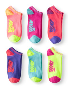 Ladies Super Soft No Show Socks, 6 Pack