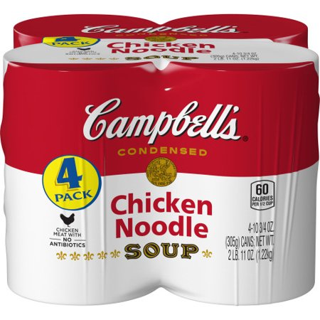 (8 Cans) Campbell's Condensed Chicken Noodle Soup, 10.75 oz ()