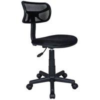 Techni Mobili Swivel, Adjustable Height Mesh Task Chair, Multiple Colors