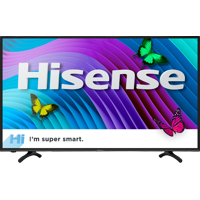 "Refurbished Hisense 43"" Class 4K HDR Smart HDTV (43H6D)"