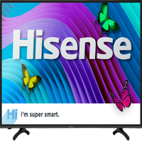 "Refurbished Hisense 43"" Class 4K HDR Smart HDTV (43H6D)"