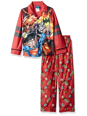 Boys' Burron Front 2 Piece Pajama Sleep Set