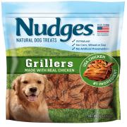 Nudges Chicken Grillers Dog Treats, 16 Oz
