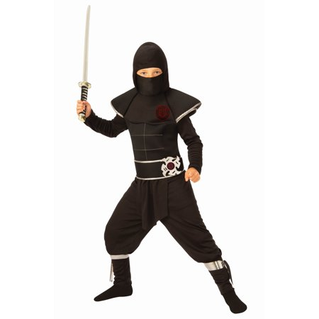 Boys Ninja Warrior Costume (Ninja Costume With Weapons)