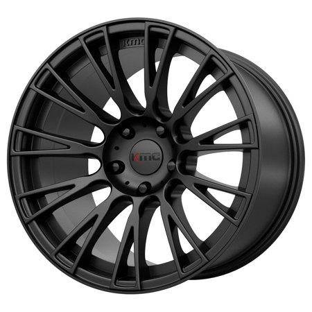 KMC KM706 Impact 20x8.5 5x115 +25mm Satin Black Wheel Rim 20