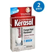 (2 Pack) Kerasal nail Fungal Nail Renewal Treatment, .33 oz