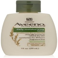 AVEENO Active Naturals Daily Moisturizing Lotion 1 oz (Pack of 3)