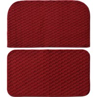 """Garland Rug Town Square 2pc Kitchen Rug Slice and Mat, 18"""" x 28"""""""