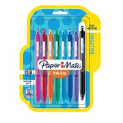 Paper Mate® InkJoy® 300RT Retractable Ballpoint Pens, Medium Point, Assorted, 8 Pack