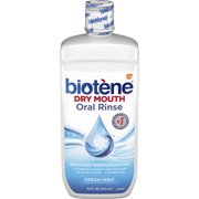 Biotene Fresh Mint Mouthwash for Dry Mouth Relief, 16 ounce