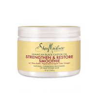 Jamaican Black Castor Oil Smoothie - Hydrates and Adds Luster - Protects Hair and Increases Softness - Sulfate-Free with Natural and Organic Ingredients - Nourishes and Restores Moisture (12 oz)