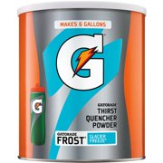 Gatorade Thirst Quencher Drink Mix, Frost Glacier Freeze, 51 Oz, 1 Count