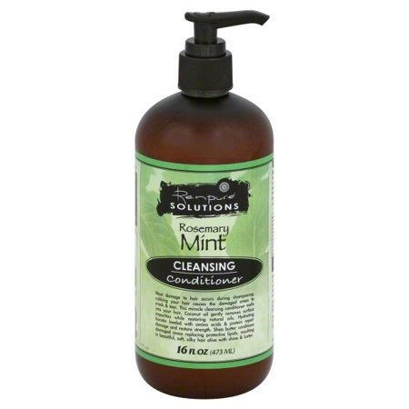 Mint Invigorating Hydrating Conditioner - Renpure Solutions Rosemary Mint Cleansing Conditioner, 16 Fluid Ounce