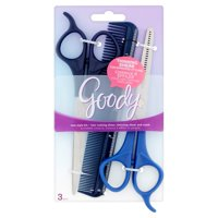 Goody New Style Kit, Hair Cutting Shears, Thinning Shears and Comb, 3 Pieces