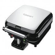 Best Waffle Irons - Cuisinart WAF-150 4-Slice Belgian Waffle Maker, Stainless Steel Review