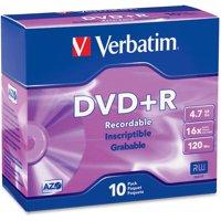 Verbatim 95097 16x DVD+R Media