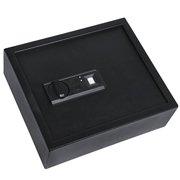 Ivation Biometric Large Digital Drawer Safe  4.37 x 13.7 x 11.8 Home Security Box With Fingerprint Lock, Backup Keys & Mounting Kit