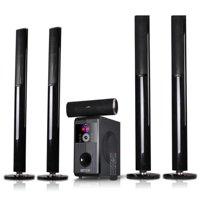 beFree Sound BFS-910 5.1 Channel Surround Sound Bluetooth Stand Speaker System