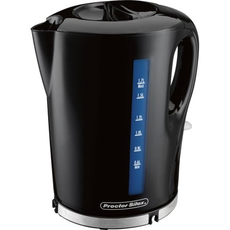 Proctor Silex 1.7 Liter Cordless Electric Kettle | Model#