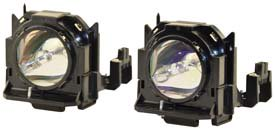 Replacement for PANASONIC D6000 2 PACK LAMP and HOUSING
