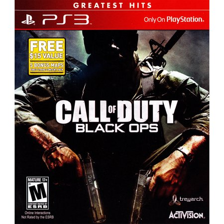 Activision Call Of Duty Black Ops (PS3) (Best Non Shooter Ps3 Games)