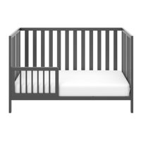 Storkcraft Toddler Bed Rail Gray