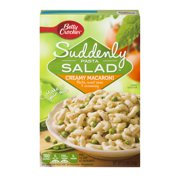 (5 Pack) Suddenly Salad Creamy Macaroni Pasta Salad Dry Meals 6.5 Oz