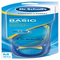 Dr. Scholl's Comfort & Energy Massaging Gel Basic Insoles for Men