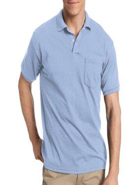 Big Men's Comfortblend EcoSmart Jersey Polo with Pocket