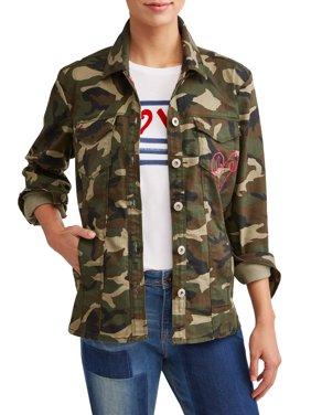 Camo Utility Jacket Women's