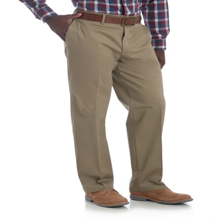 Black Chino Pants - Men's No Iron Flex Straight Fit Pant