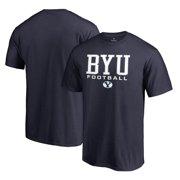 b2c090637537c9 BYU Cougars Fanatics Branded True Sport Football T-Shirt - Navy
