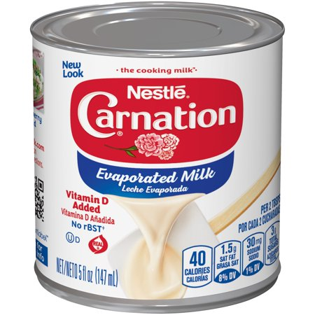 (3 Pack) CARNATION Vitamin D Added Evaporated Milk 5 fl oz can