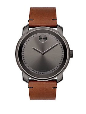 Bold Leather Mens Watch 3600366