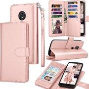 Tekcoo Wallet Case For Motorola Moto G6 Play / Moto G6 / Moto G6 Forge,