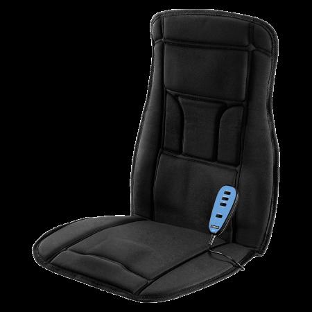 Heated Auto Seat Massager - Body Benefits Heated Massaging Seat Cushion